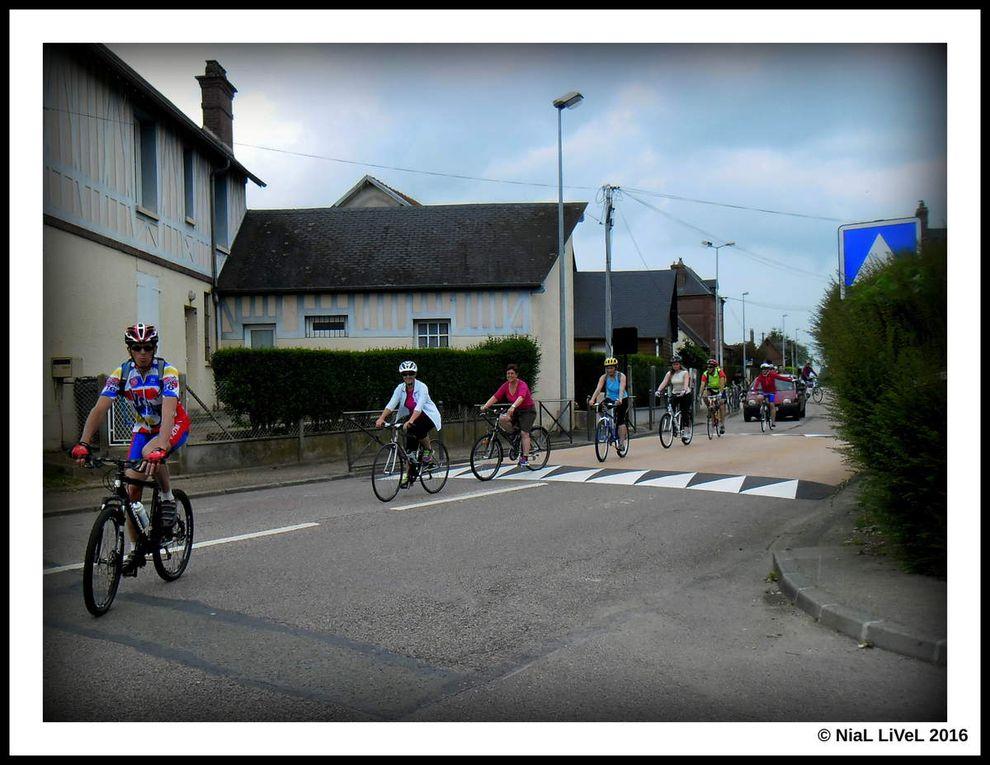 Première sortie du groupe balade Vélo club Houppeville.