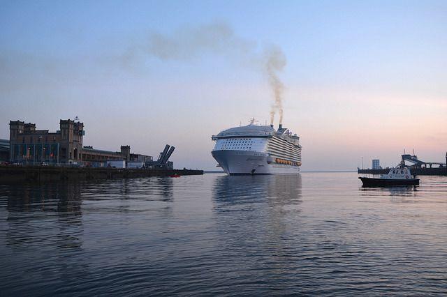 Arrivée de l'Harmony of the Seas en images : la mise à quai