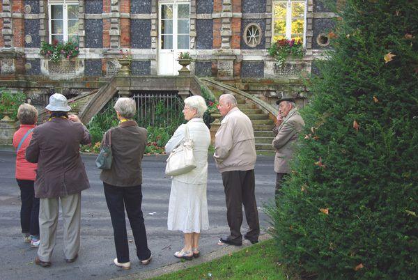 La visite du Chateau de la Mairie par notre ami rené.