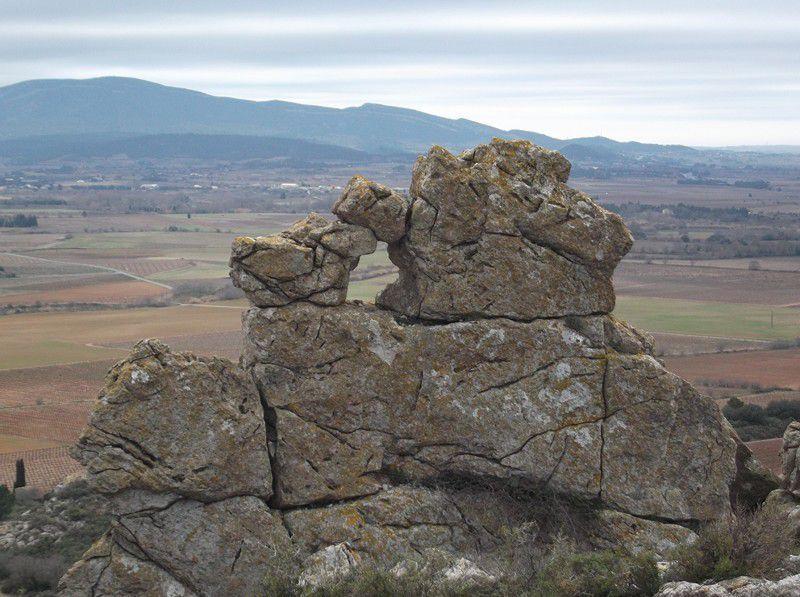Du coté de la roche trouée