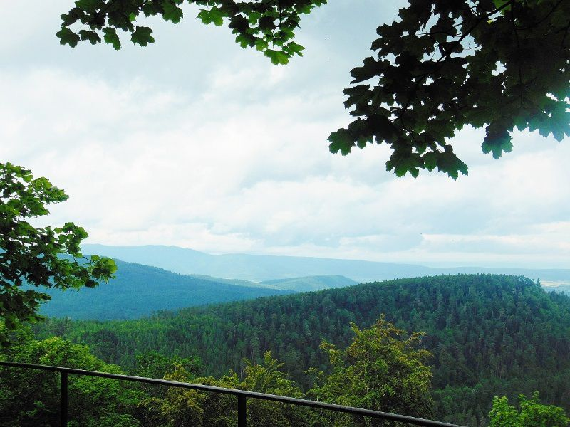 Le Mont Sainte Odile - Ottrott - 67