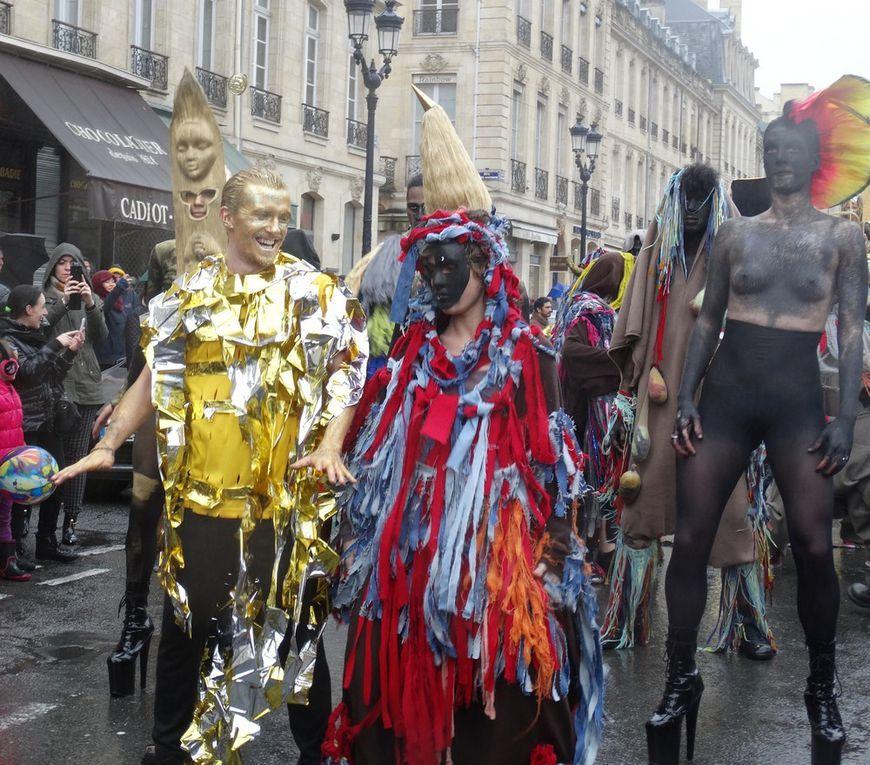 Le Carnaval des Monstres à Bordeaux : les Chevelus en photos...