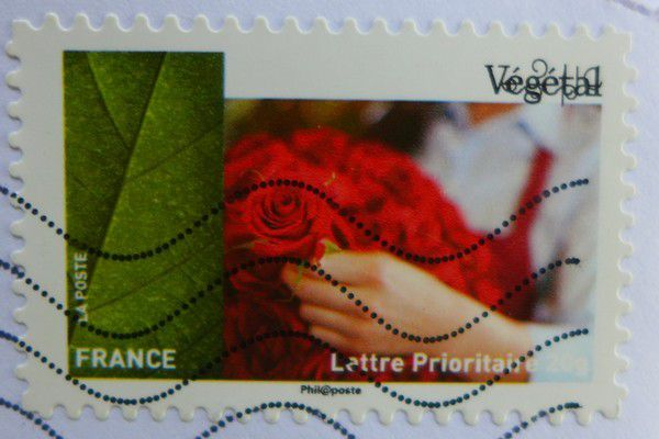 De jolies cartes postales dans ma boite aux lettres...