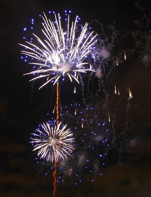 Fête du Vin 2016 à Bordeaux - Le feu d'artifice...