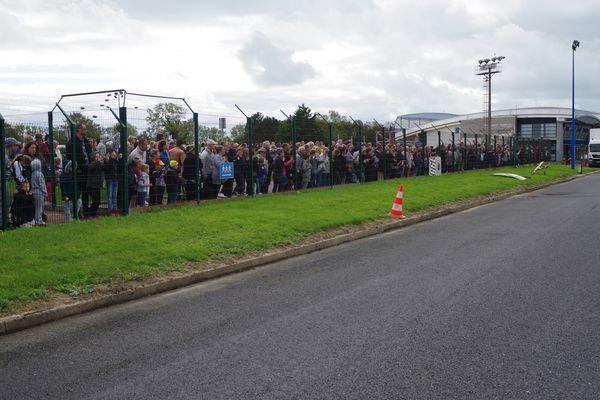 La foule des grands jours sur Octeville. (diaporama)