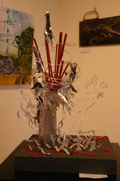 """"""" le vent de la  Révolte """" sculpture en aluminium"""