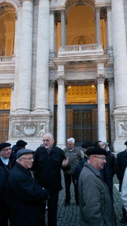 Nos prêtres à Rome