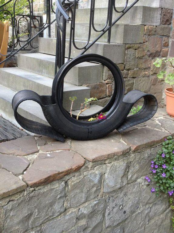 Produits issus du recyclage de pneus
