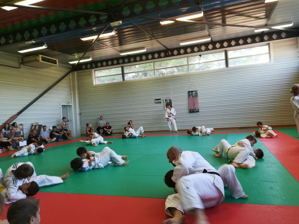 Entrainement judo enfant