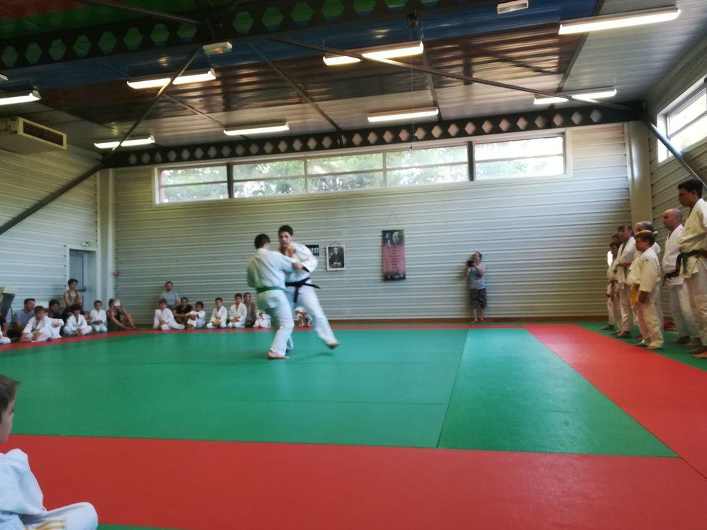 Entrainement judo ado adulte