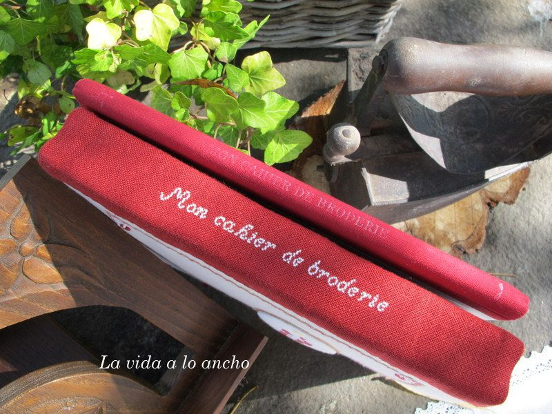 SAL &quot&#x3B;MON CAHIER DE BRODERIE&quot&#x3B;  EDICIÓN LIBRE