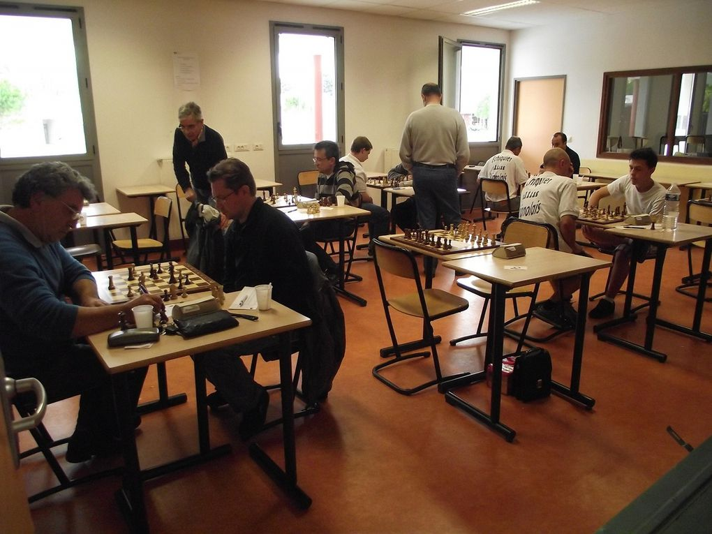 Interclubs Adultes Ronde 1