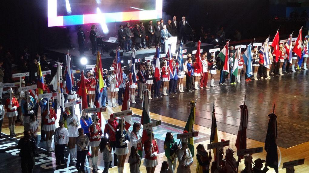 Eröffnungsfeier der 20. World Transplant Games 2015