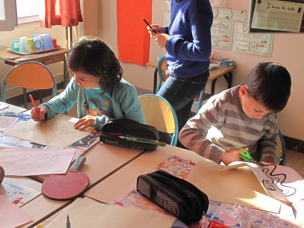 Ateliers inter classes 13 octobre 2015