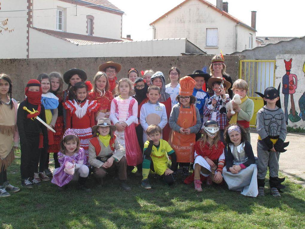 Carnaval 2016 école primaire