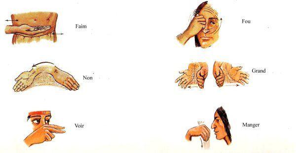 Les Indiens et les Signes