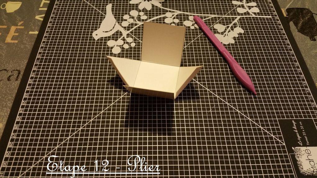 Calendrier de l'avent - Suspendu - Noel - 2015 - Sapin - Triangle - Cube - 25 - Décembre - Fait Main