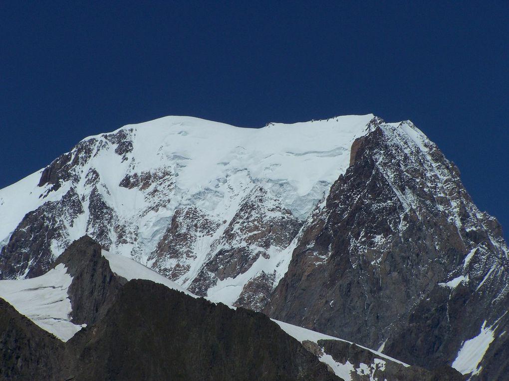Entre chalet refuge des Montets et au col de la Seigne