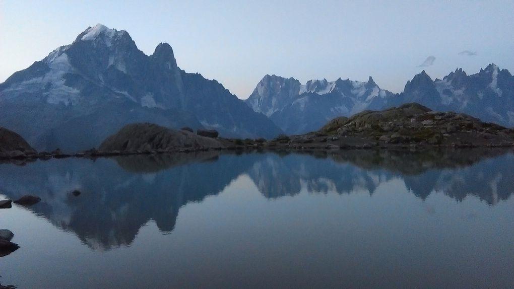 Lever de soleil au lac Blanc...Diaporama !