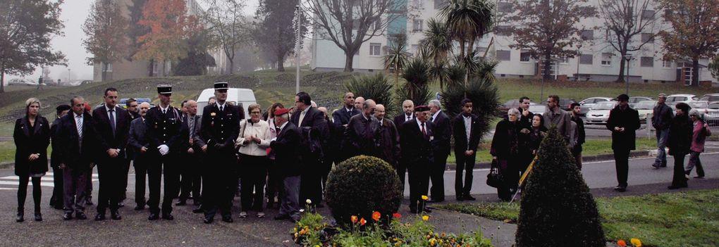 Quelques vues de la remise de la Médaille de la Ville de Mourenx à notre porte drapeau Mario Giudice