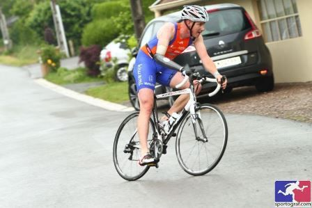 Trophée 2017... En photo : le Capitaine de l'Equipe de France Cycliste David Travadon