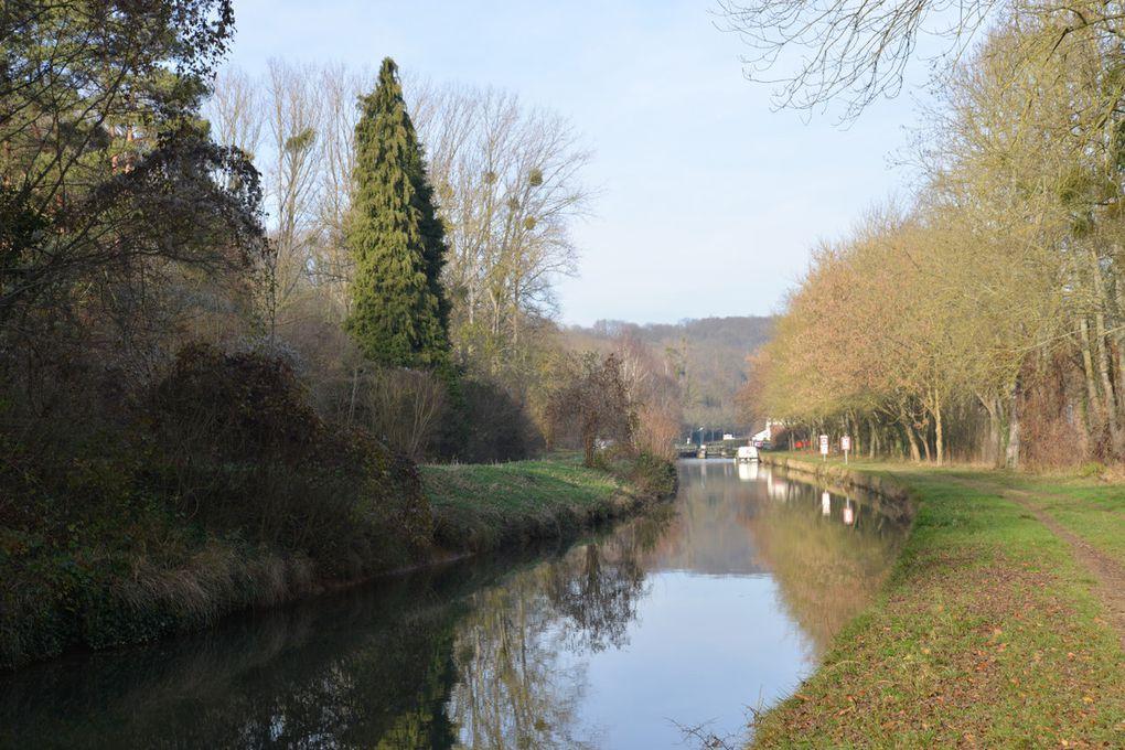 Journée du dimanche 8 janvier 2017 La Vallée de la Marne entre le Canal de l'Ourcq et la Forêt de Monceaux