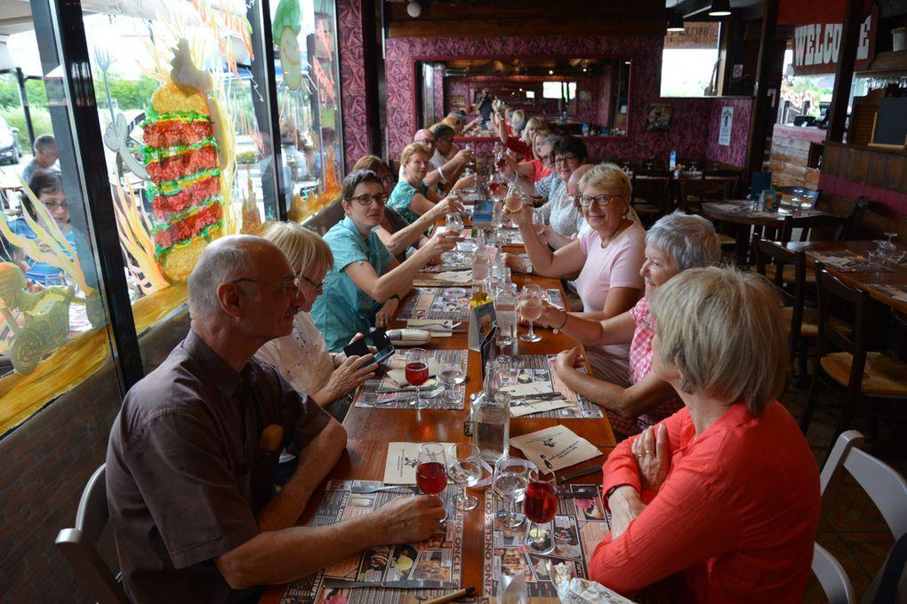 Clôture des journées dimanche 25 juin 2017  Restaurant « Oncle Scott's » - Ormoy