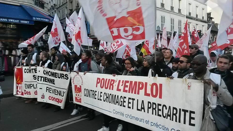 Hier samedi 3 décembre, les chômeurs, les précaires étaient dans la rue....
