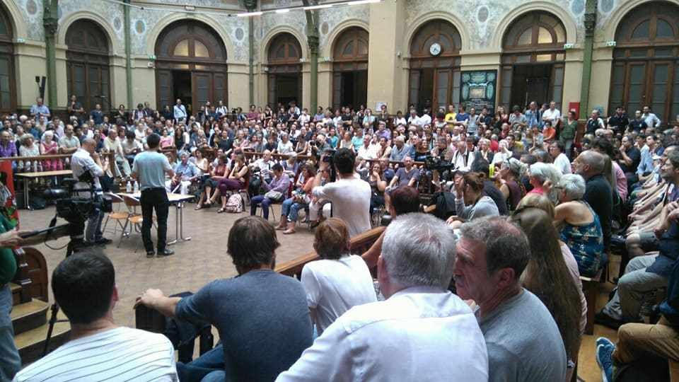 Lundi 26 juin à la Bourse du travail de Paris