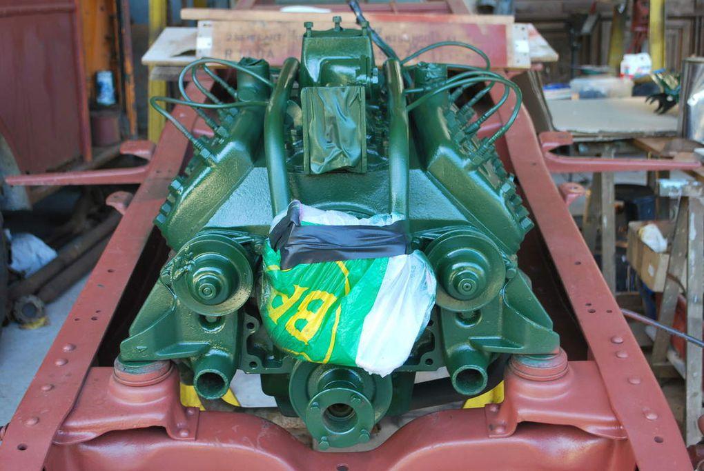 Restauration Ford Maultier VS 3000 SDKFZ 3/4