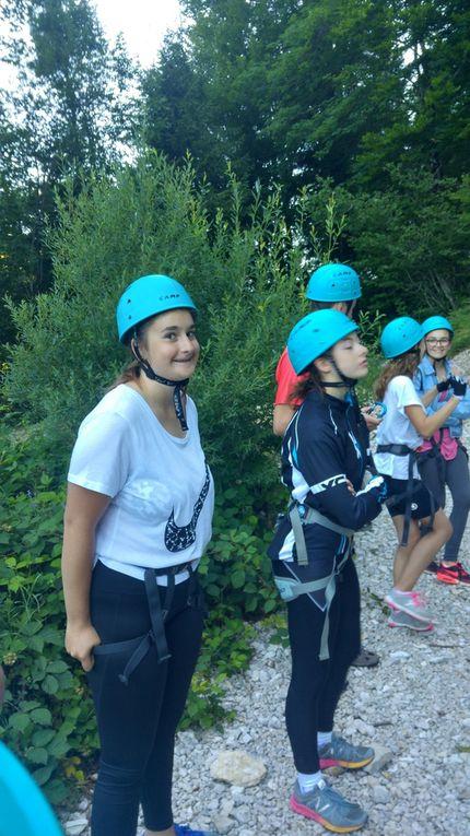 Séjour dans le Jura - activité escalade