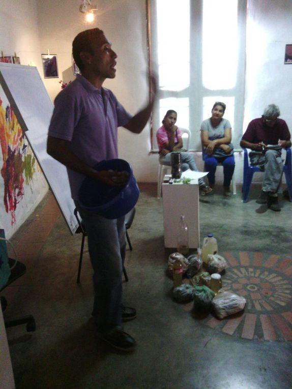 AVANCE TALLER PATIOS SOCIOPRODUCTIVOS - MUESTRA GRAFICA TALLER DESARROLLADO EN EL GABINETE ESTADAL SUCRE. FOTOGRAFIAS LCDA BETZY ARNAUDES.