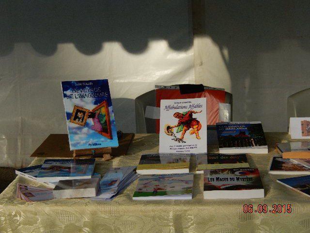 Fête des associations à Aubagne - Vivacité à Marseille - Deux équipes de Pp éditions sur les lieux.