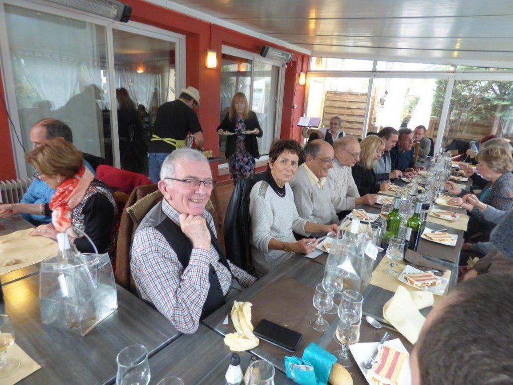Le troisième repas de l'association a groupé 27 personnes pour le 28 février 2013 dans la salle de l'Origan à Roquevaire