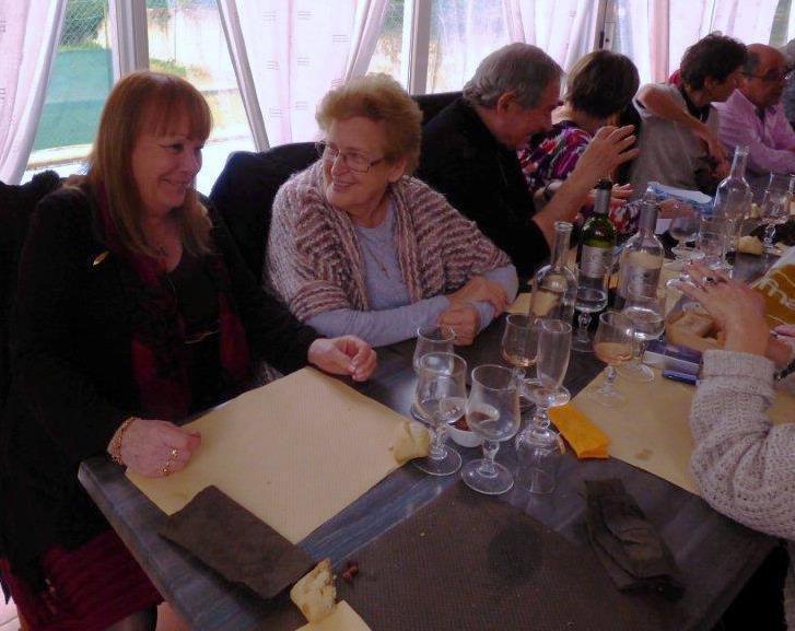 Le quatrième repas de l'association à l'Origan marquait certaines retrouvailles  dans les participants.