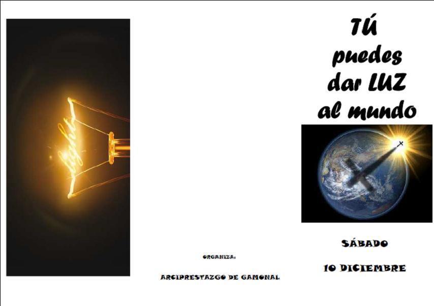 Convivencia de Confirmación: &quot&#x3B;Tú puedes dar luz al mundo&quot&#x3B;