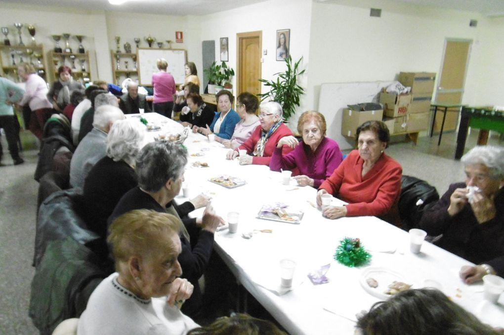 Los mayores del &quot&#x3B;Rincón&quot&#x3B; celebran la Navidad