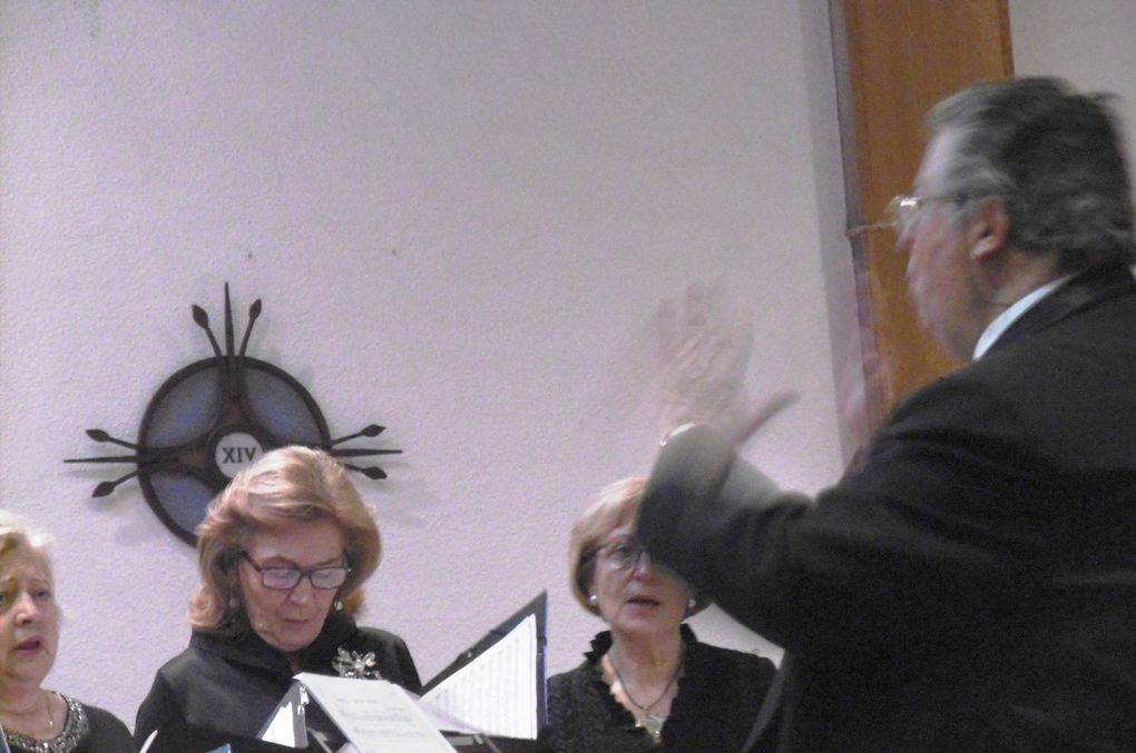 Coral polifónica LA SALLE en concierto