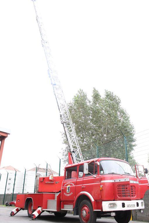 Notre ancienne échelle de 30 mètres se prépare pour les expositions d'anciens matériels d'Incendie