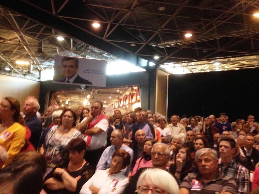 Grand rassemblement de François Fillon à Lyon
