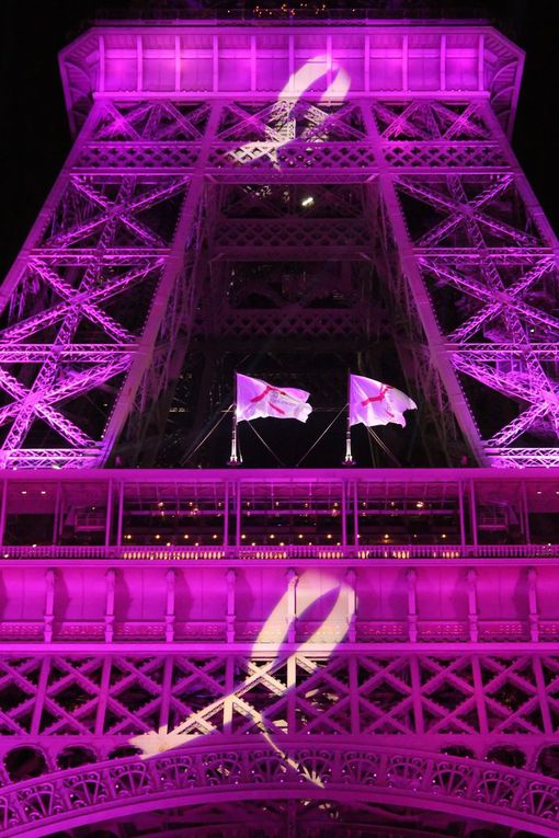 La Tour Eiffel, pour Octobre Rose (6 photos)