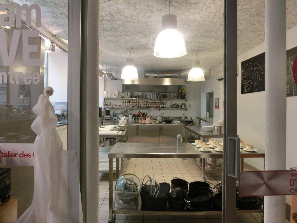La boutique de L'Atelier des Chefs, 8 rue Pernelle, Paris 4ème arr. (3photos)