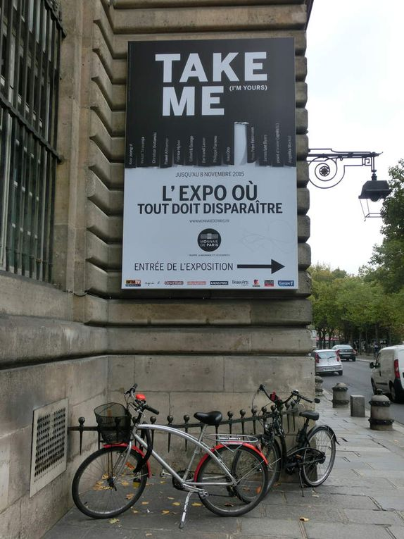 L'expo où tout doit disparaître (2 photos)