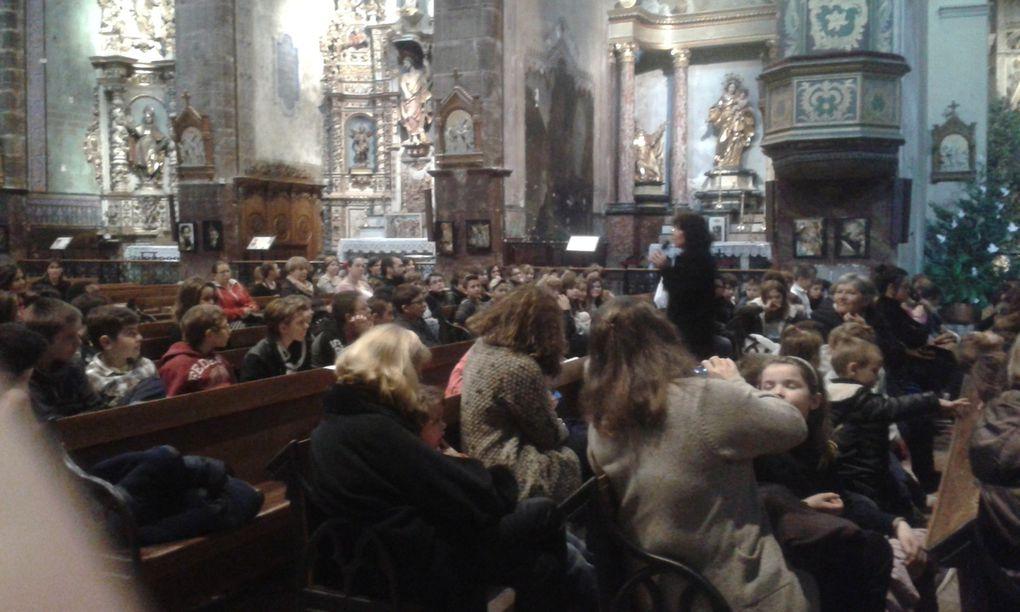 Emouvant Pessebre à l'Eglise de Prades