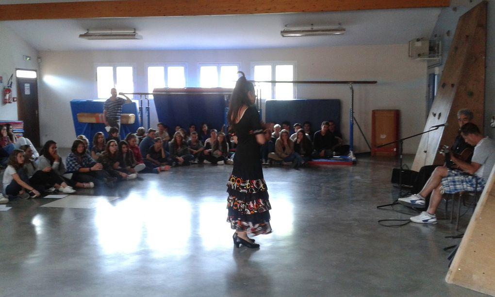 Flamenco y sevillanas con Elisabeth y Tony!!! Revelaciones del año!!!