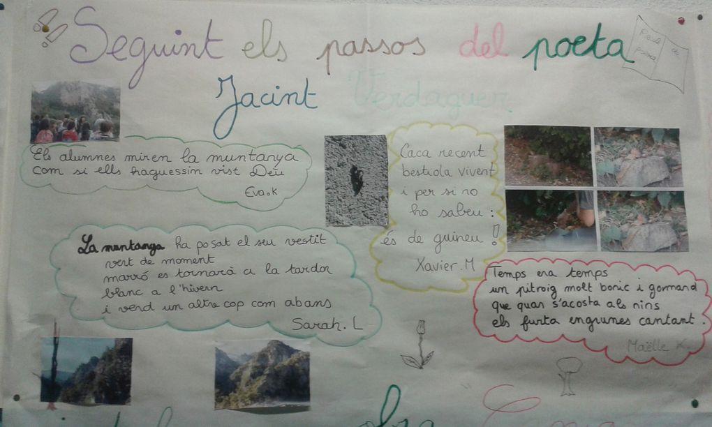 Exposicions de les sortides de català a Sant Marti del Canigo i Sant Miquel de Cuixà