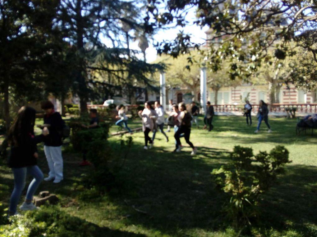 Tous les futurs Confirmands des établissements privés, réunis au Parc Ducup