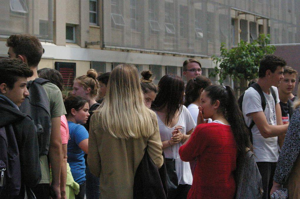 Les trois classes de 3èmes découvrent le Lycée Renouvier de Prades à travers l'EPS!