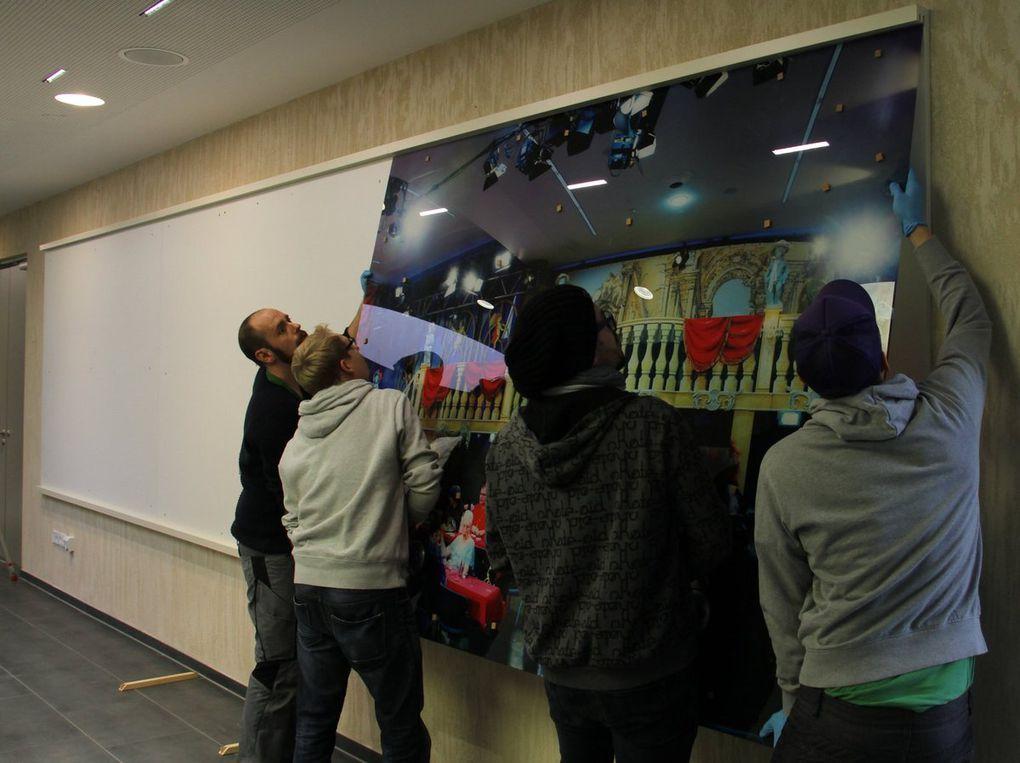 """Optischer Lichtblick der neuen Mainfrankensäle: Dauerausstellung &quot&#x3B;Die Welt von Fastnacht in Franken"""""""