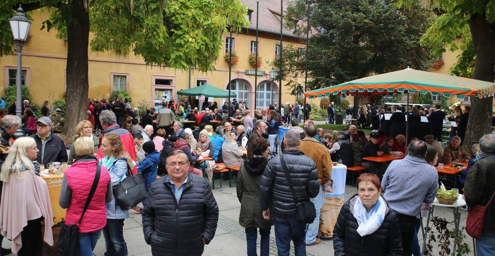 Premiere des Veitshöchheimer Bremsermarktes war ein Riesenerfolg - Weit über 1.000 Gäste